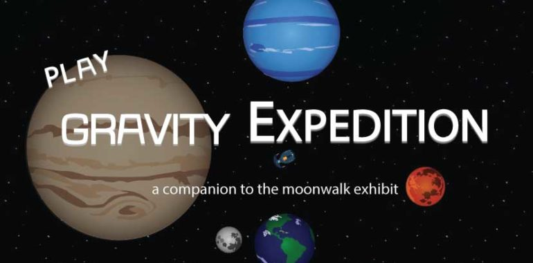 Try SEE's Gravity Expedition Video Game
