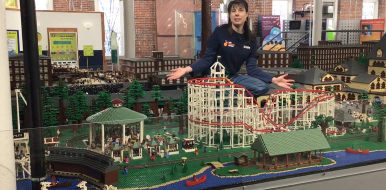 Intro to LEGO® Millyard Project & First Feature: Pine Island Park