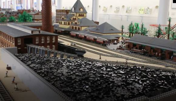 Coal yard profile in the LEGO® Millyard Project