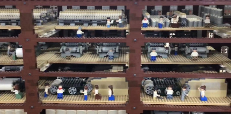 LEGO® Millyard Project: Machines & Process at Amoskeag